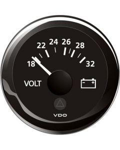 Mätare VDO ViewLine Volt 18-32V 52mm