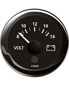 Mätare VDO ViewLine Volt 8-16V 52mm