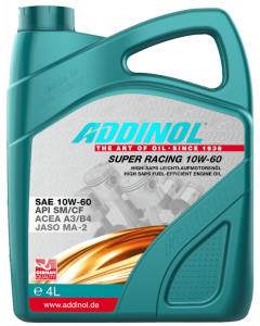 Olja Addinol Super Racing 10W60