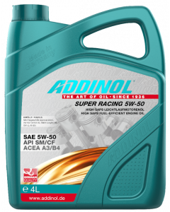 Olja Addinol Super Racing 5W50