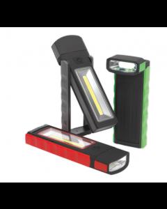 Magnetisk ficklampa Sealey 3W + 0,5W COB LED